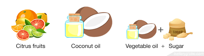 Using natural materials to get gas smell off hands helps to avoid drying skin.